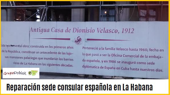 consulado español de La Habana