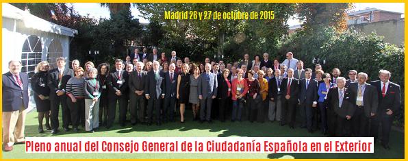 A por representación parlamentaria, Ciudadanía española Exterior